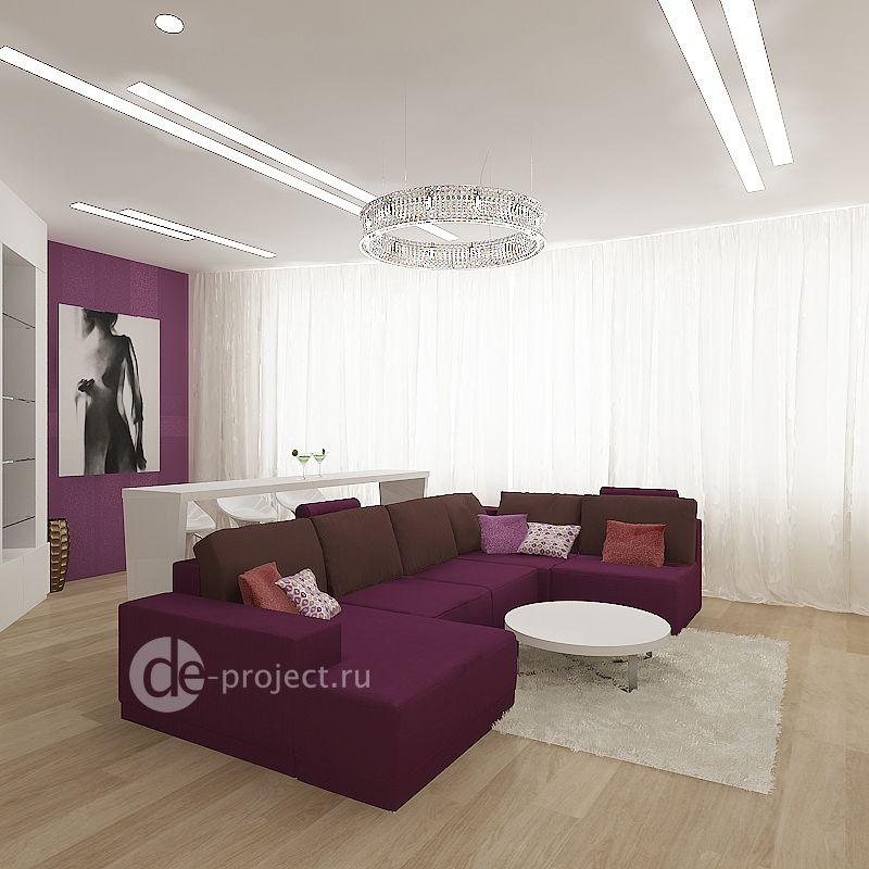 Проект гостиной