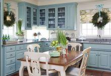 Новогодний декор интерьера кухни