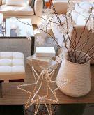 декор интерьера гостиной к новому году